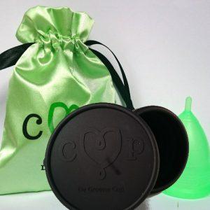 De Groene Cup met magnetron sterilisator