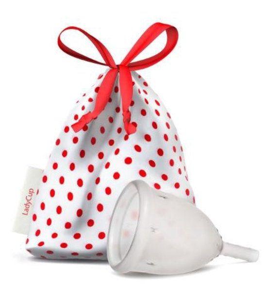 LadyCup, transparante menstruatiecup