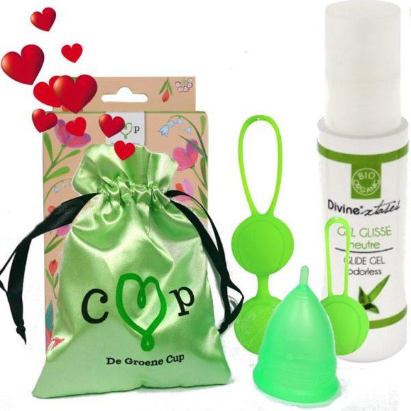"""De Groene Cup """"Love"""" pakket"""