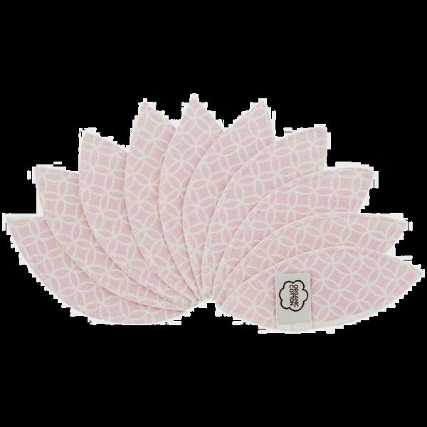 ImseVimse Labia pads - 10 stuks met waszakje - roze
