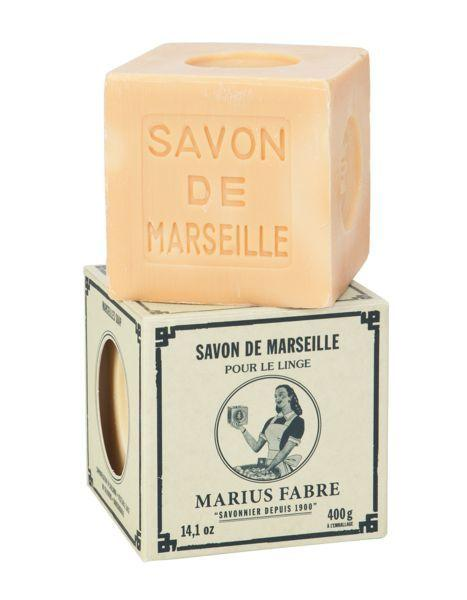 Marius Fabre Savon marseille zeep - Blanc - 400 gram - zonder palmolie